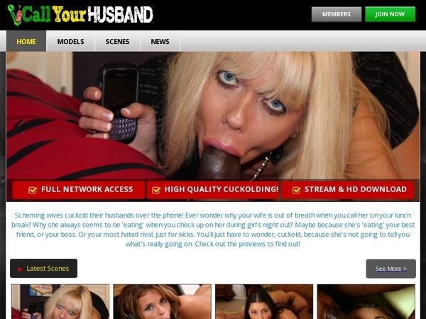 Call Your Husband Save Money