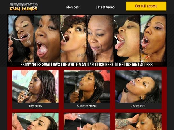 Free Ebony Cum Dumps Site Rip