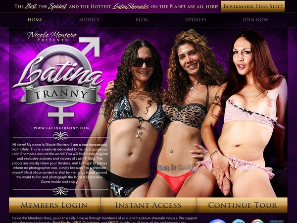 Get Latina Tranny Membership Discount
