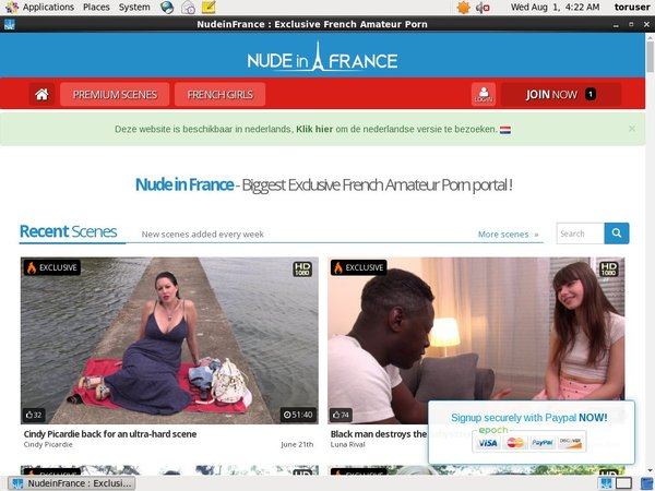 How To Access Nude In France