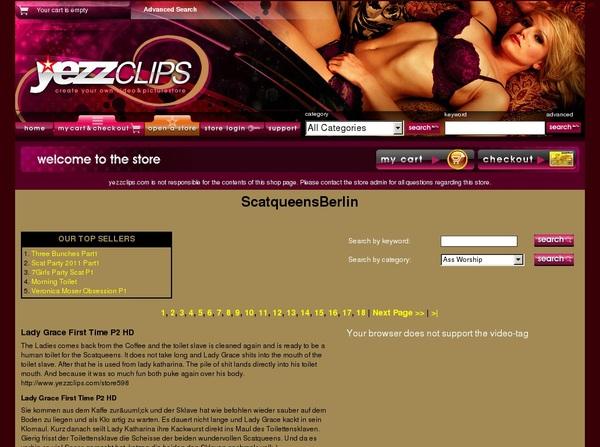 Yezzclips.com Free Membership