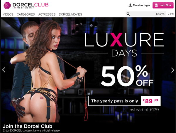 Dorcel Club Join Again