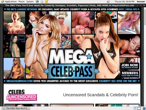 Mega Celeb Pass Discount Join Page