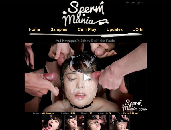 Sperm Mania Free Memberships