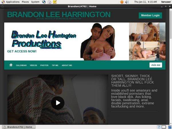 Brandon Lee Harrington Special Deal