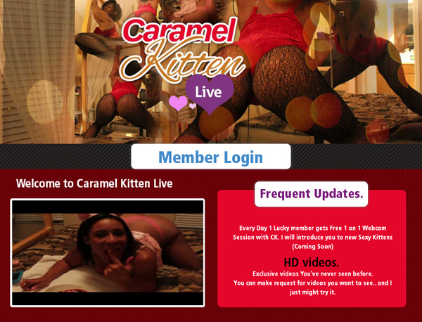 Caramelkittenlive Free Trial Link