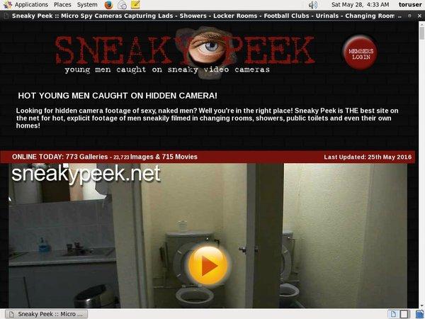 Sneaky Peek Freeones