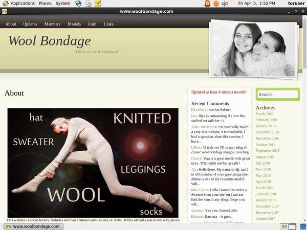Wool Bondage Payment Page