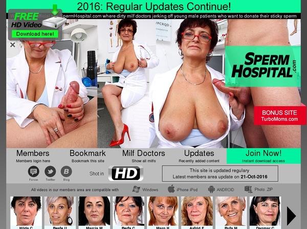 Login Spermhospital.com For Free